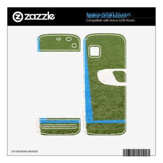 Football Field Ten Nokia 5230 Nuron Skins
