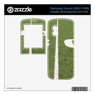 Football Field Thirty Decal For Samsung Gravity