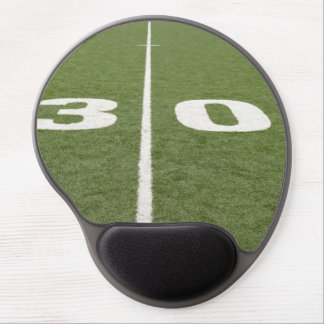 Football Field Thirty Gel Mouse Pad