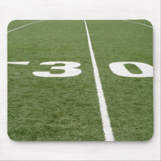 Football Field Thirty Mouse Pad