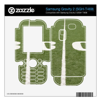 Football Field Thirty Samsung Gravity 2 Decals