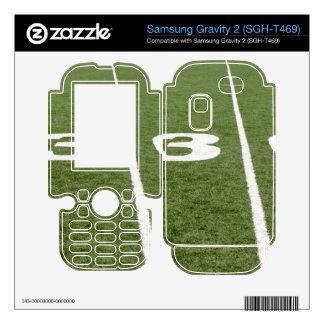 Football Field Thirty Samsung Gravity 2 Skins