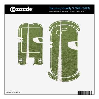 Football Field Thirty Samsung Gravity 3 Skins