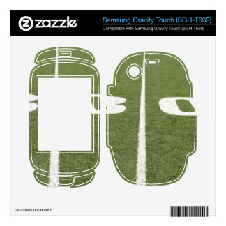 Football Field Thirty Samsung Gravity Touch Skins