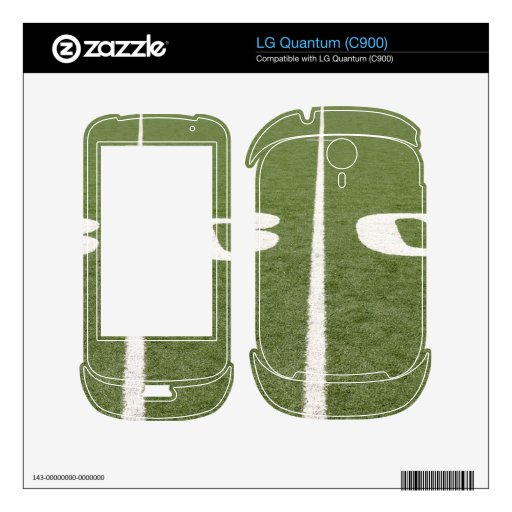 Football Field Thirty Skins For LG Quantum
