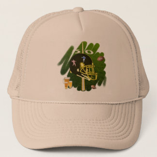 Football Field Trucker Hat