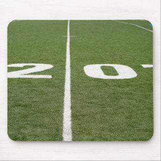 Football Field Twenty Mouse Pad