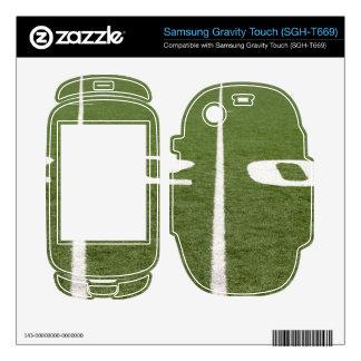 Football Field Twenty Samsung Gravity Touch Skins