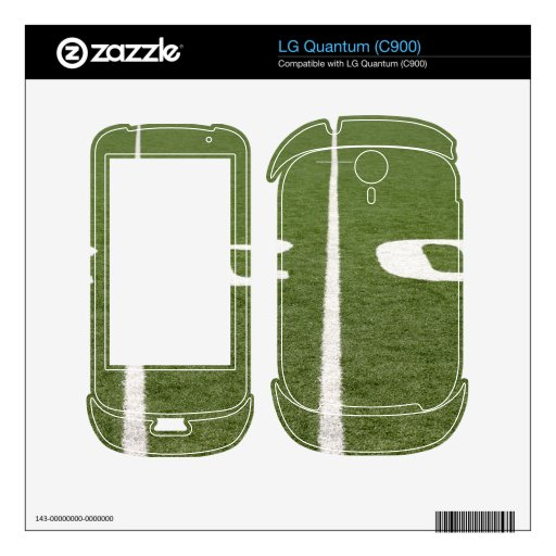 Football Field Twenty Decal For The LG Quantum