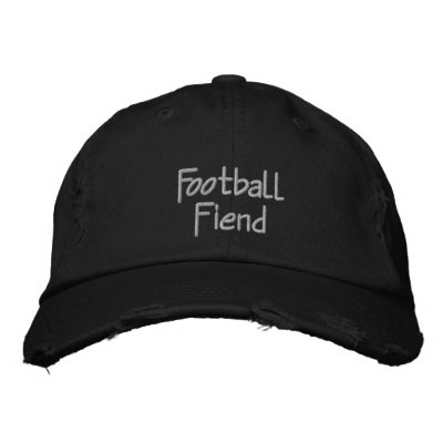 Football Fiend Embroidered Baseball Cap / Hat