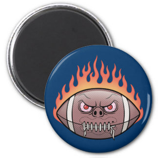 Football - Flames Magnet