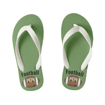 Football - Flip Flops, Kids Kid's Flip Flops