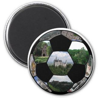Football For Germany Fridge Magnets