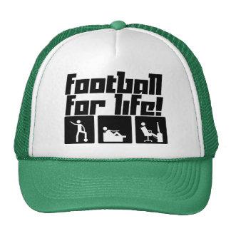 Football for life! trucker hat