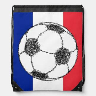 Football, France Backpacks