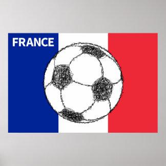 Football, France Poster