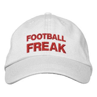 FOOTBALL FREAK A01 RED Embroidery Baseball Cap
