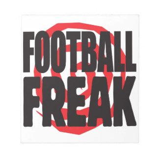 Football Freak Memo Notepads