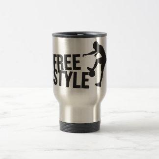 Football Freestyle | Soccer Travel Mug