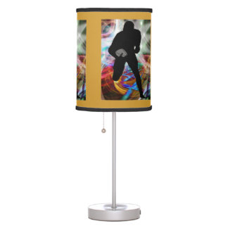 Football Friday Night Lights ANY COLOR BACKGROUND Lamp