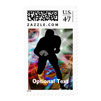 Football Friday Night Lights- Customizable Postage Stamp