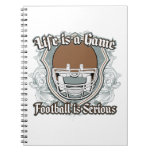 Football Game Brown Notebooks