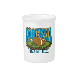 Football Game Day Beverage Pitcher