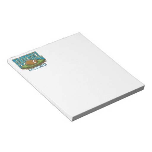 Football Game Day Memo Pads