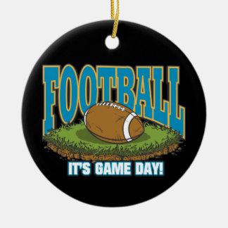 Football Game Day Christmas Tree Ornament