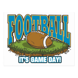 Football Game Day Postcard