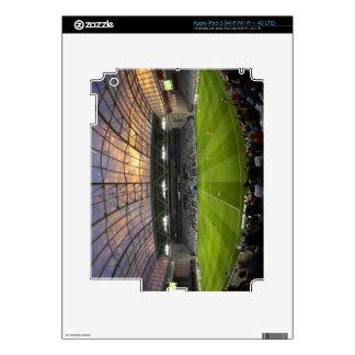 Football game, Forsyth Barr Stadium, Dunedin Decal For iPad 3