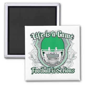 Football Game Green Fridge Magnet
