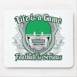 Football Game Green Mouse Pad