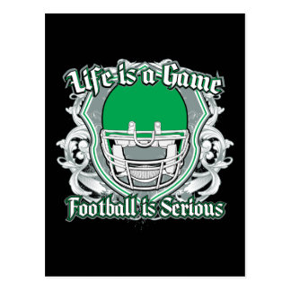 Football Game Green Postcard