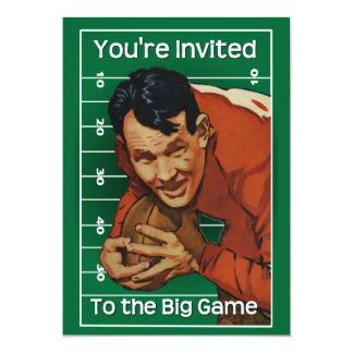 Football Game Invitation