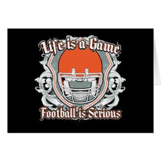 Football Game Orange Cards