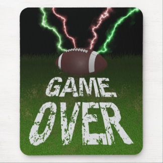 Football - Game Over Mouse Pad