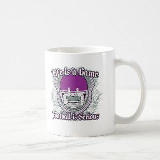 Football Game Purple Mugs