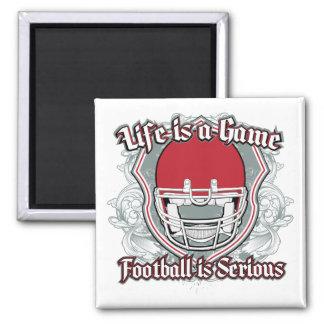 Football Game Red Fridge Magnet