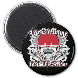 Football Game Red Fridge Magnets