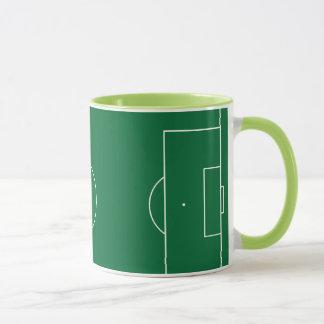 Football game stadium mug