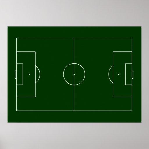 football game stadium poster