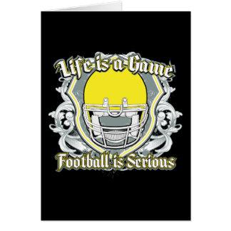 Football Game Yellow Card