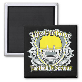 Football Game Yellow Refrigerator Magnets