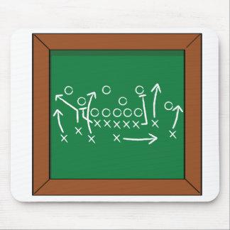 Football gameplan mousepad