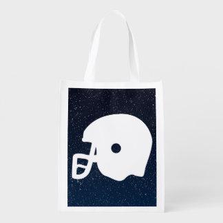 Football Gears Minimal Reusable Grocery Bag
