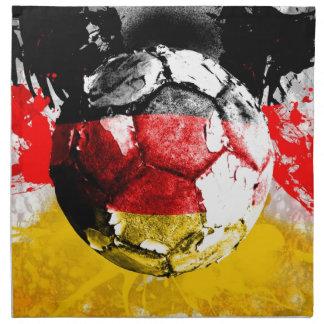 football germany cloth napkin
