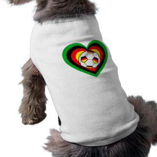 Football Germany heart of soccer Germany heart T-Shirt