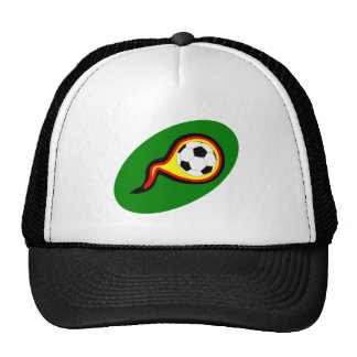 Football Germany of soccer Germany Mesh Hat
