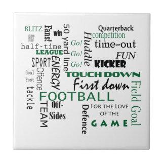 Football Gift Tile